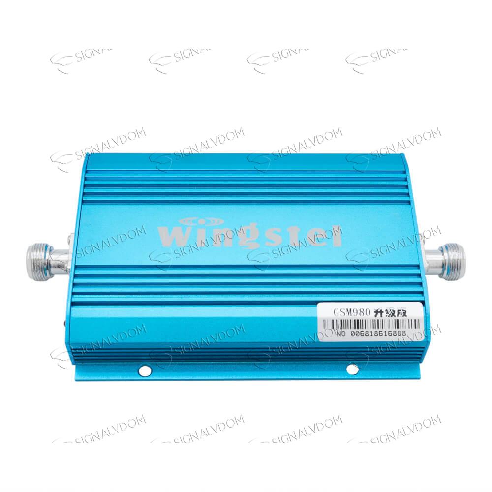 Усилитель сигнала автомобильный Wingstel Car 900 mHz (для 2G) 65dBi, кабель 10 м., комплект - 2